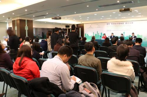 "The Macao Trade and Investment Promotion and the Administrative Committee of Hengqin New Area jointly hold the Press Conference on New Recruitment Phase of Investment Projects for the ""Guangdong-Macao Co-operation Industrial Park"""