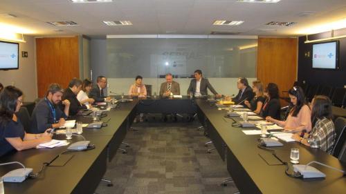貿促局一行與巴西小微企業支援服務中心進行交流