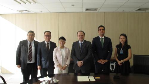 貿促局一行與巴西出口投資促進局會面